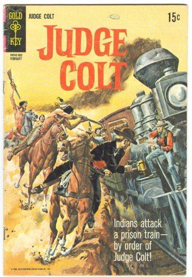 Judge Colt #2 Indians Attack HTF 1970 Gold Key