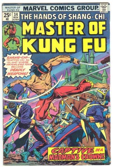 Master Of Kung Fu #34 Gulacy Art 1975