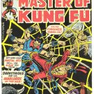 Master Of Kung Fu #37 Warlords Of The Web 1976