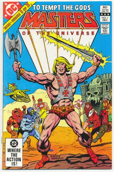 Masters Of The Universe #1 1982 Miniseries HTF