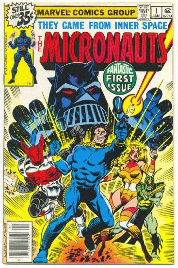 Micronauts #1 Cockrum/Golden Art 1978