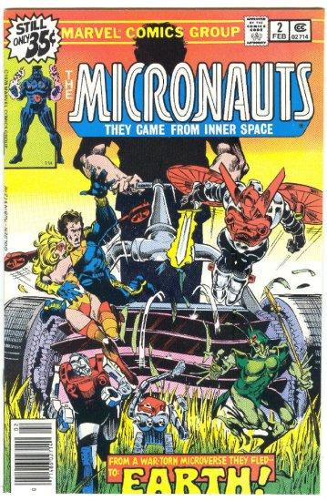 Micronauts #2 Golden Art 1978