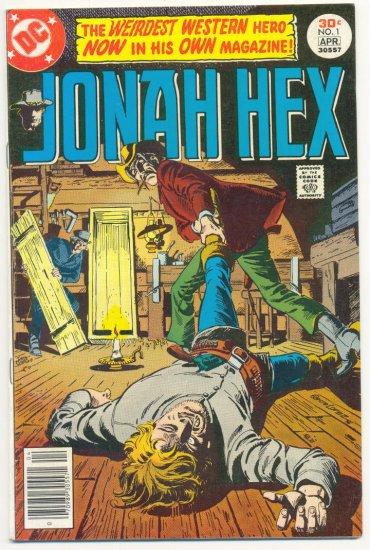 Jonah Hex #1 The Weirdest Western Hero 1977 HTF