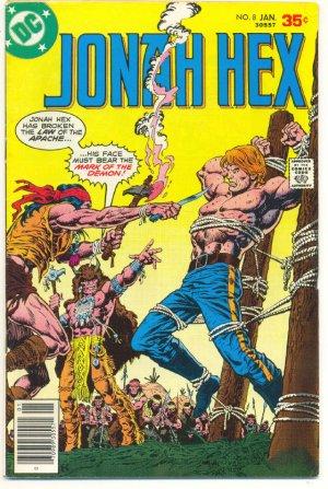 Jonah Hex #8 Mark Of The Demon Origin Issue 1978 HTF