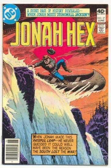 Jonah Hex #37 Stonewall Jackson