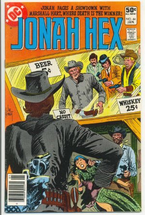 Jonah Hex #44 Showdown Of The Century VF