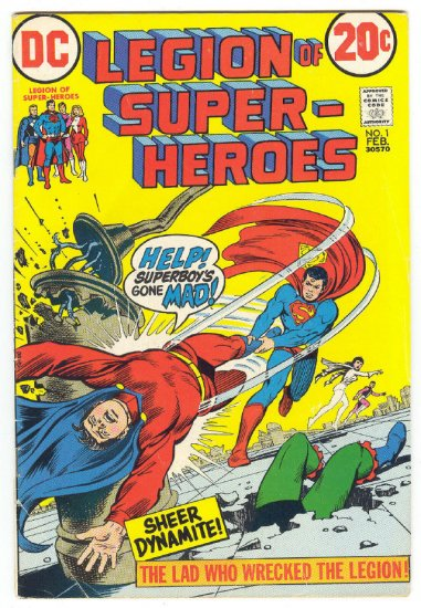 Tales Of The Legion Of Super-Heroes #1 1973