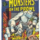 Monsters On The Prowl #14 Return Of The Titan Giant-Size 1971