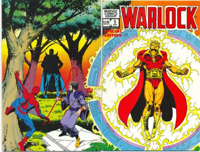 Warlock #5 Day Of The Death-Birds Kane Art 1972 HTF