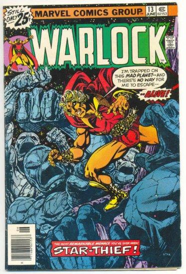 Warlock #13 The Star-Thief Starlin Classic 1976