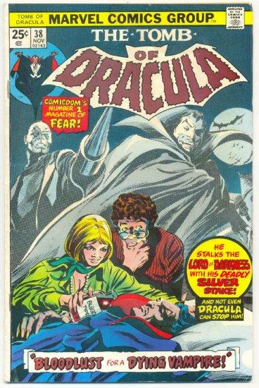 Tomb Of Dracula #38 Finally... Dr Sun Colan Art 1975