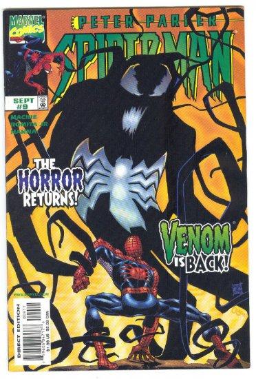 Peter Parket Spider-Man #9 The Horror Returns - Venom Is Back
