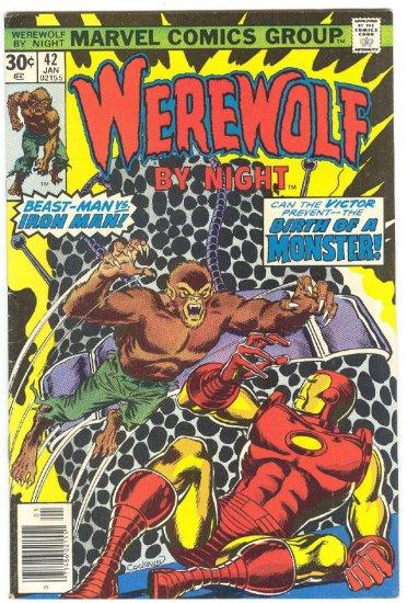 Werewolf By Night #42 Team-Up With Iron Man