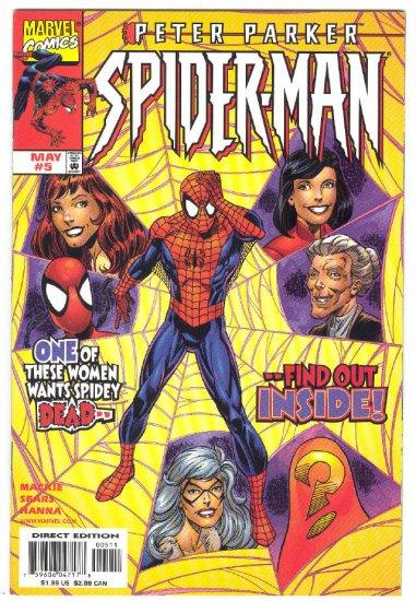 Peter Parket Spider-Man #5 Women Troubles...