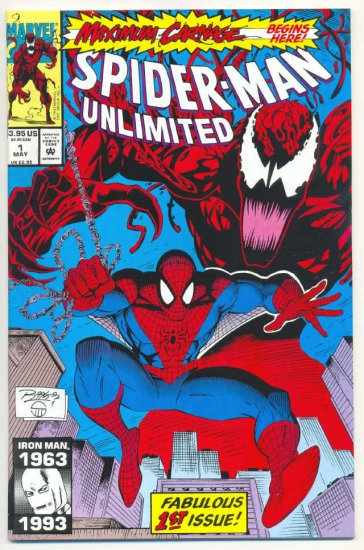 Spider-Man Unlimited #1 Maximum Carbage Begins Here