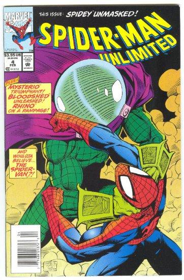 Spider-Man Unlimited #4 Spidey Unmasked