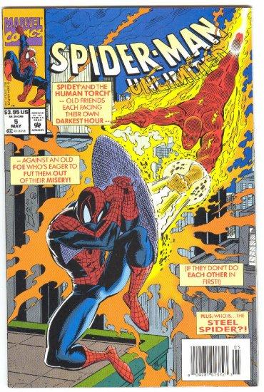 Spider-Man Unlimited #5 Spidey & The Human Torch