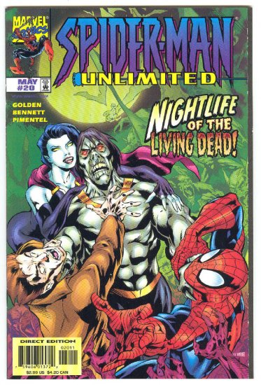 Spider-Man Unlimited #20 Night Of The Living Dead