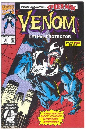 Venom Lethal Protector #2 1993 NM-