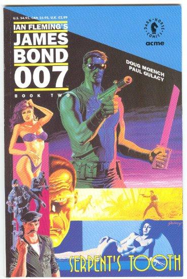 James Bond 007 Serpern't Tooth #2 Gulacy Art VFNM