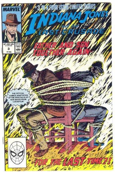 Indiana Jones And the Last Crusade #3 HTF 1989 Movie Adaptation