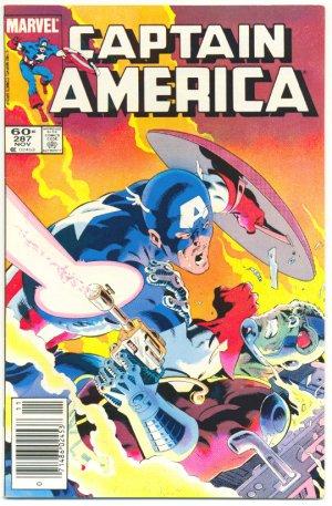 Captain America #287 Deathlok Strikes Zeck Art 1983
