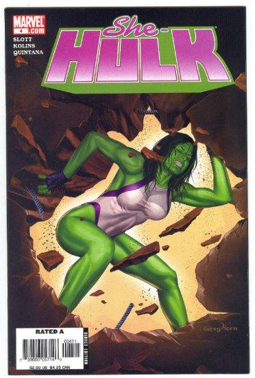 She-Hulk #4 Back To Bone 2006 Series