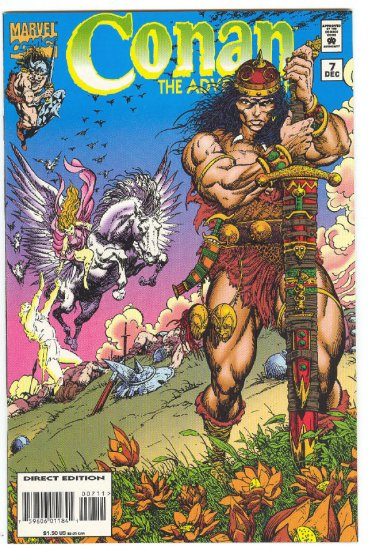 Conan The Adventurer #7 Choosers Of The Slain 1994