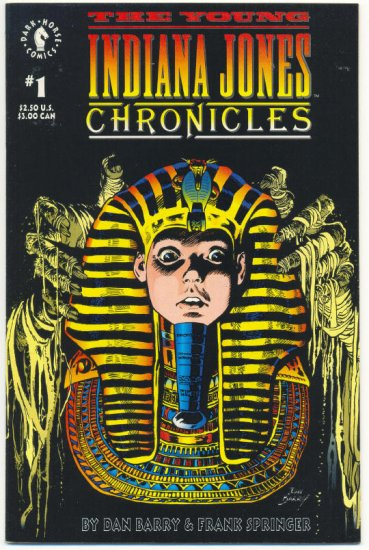 The Young Indiana Jones Chronicles #1 Dark Horse 1992