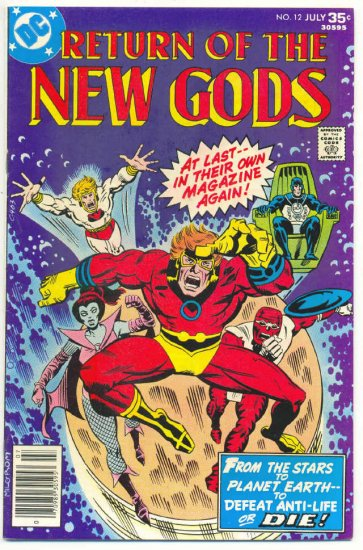 Return Of The New Gods #12 1977 Don Newton Art