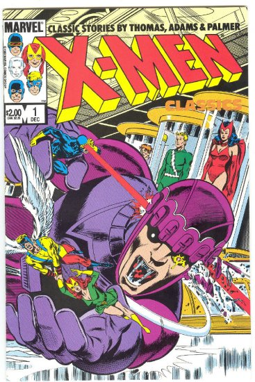 X-Men Classics #1 Neal Adams Silver Age Art Issues