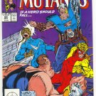 New Mutants #89 If A Hero Should Fall...  Liefeld McFarlane Art