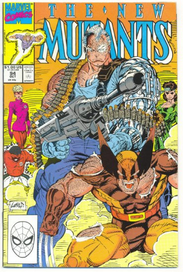New Mutants #94 Lethal Weapons Cable vs Wolverine