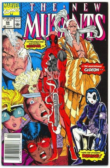 New Mutants #98 1st App Deadpool & Domino NM-
