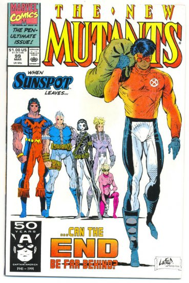New Mutants #99 Can The End Be Far Behind?