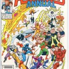 Avengers Annual #15 vs Freedom Force 1986
