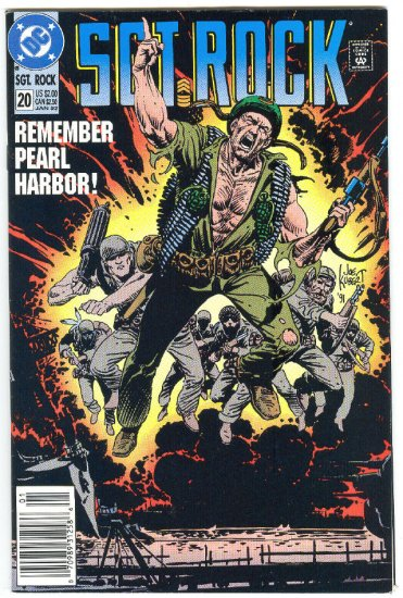 Sgt. Rock #20 Remember Pearl Harbor 1992 Anniversary Issue