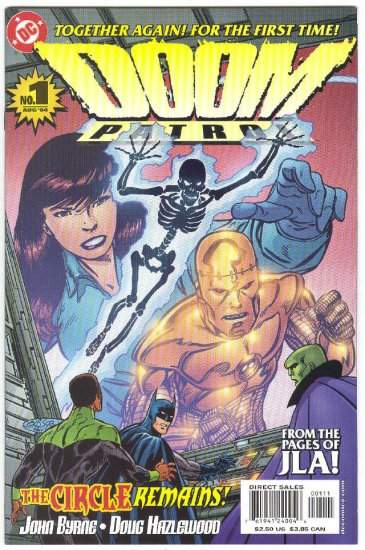 Doom Patrol #1 The Circle Remains Byrne Story & Art 2004