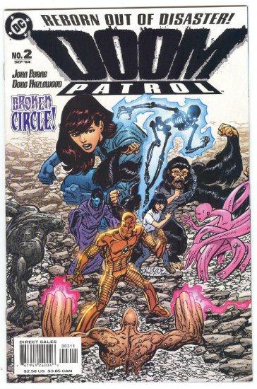 Doom Patrol #2 Reborn Out Of Disaster Byrne Story & Art 2004