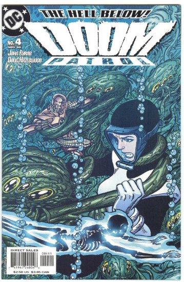 Doom Patrol #4 The Hell Below Byrne Story & Art 2004