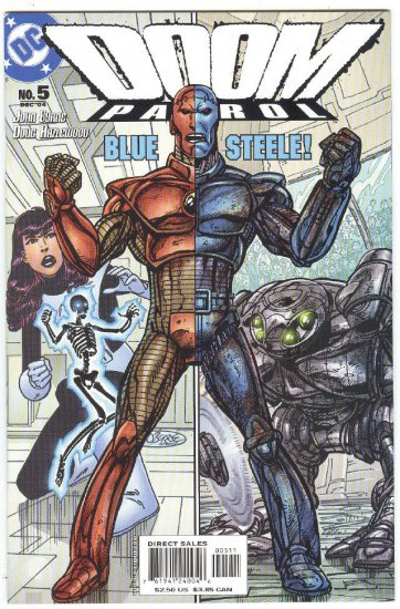 Doom Patrol #5 Blue Steel Battles Byrne Story & Art 2004