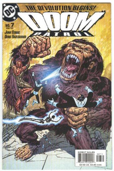 Doom Patrol #7 Devolution Byrne Story & Art 2005