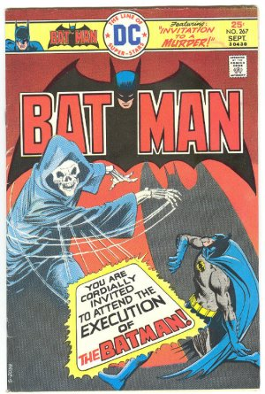 Batman #267 Invitation To A Murder 1975