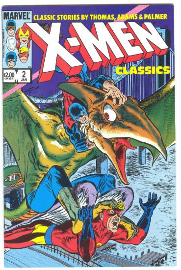 X-Men Classics #2 Neal Adams Silver Age Art Issues