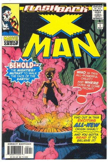 X-Man -1 Flashback Origin Issue 1997 NM