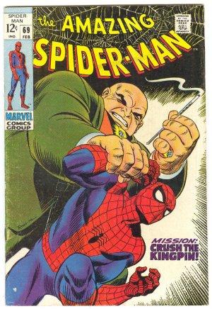 Amazing Spider-Man #69 The Kingpin Romita Classic 1969