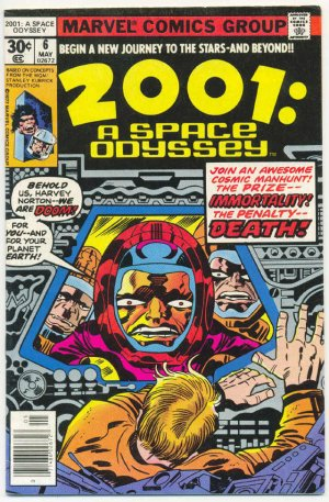 2001: A Space Odyssey #6 Kirby Classic 1977