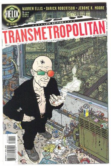 Transmetropolitan #1 1997 Mature Series NM