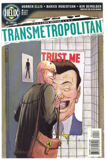 Transmetropolitan #4 1997 Mature Series NM-