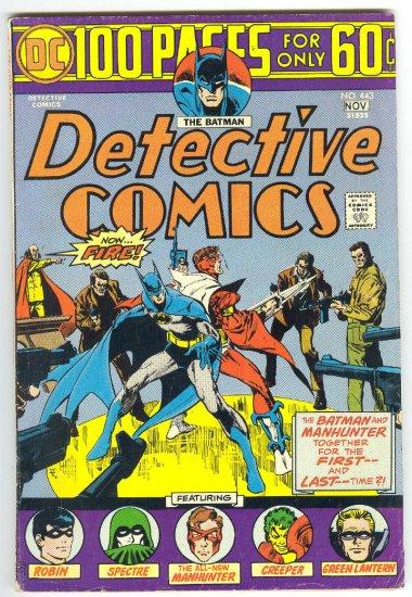 Detective Comics #443 100 Page Giant 1974 Ditko Simonson Toth